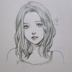 Drawing Eyes, Anime Drawings Sketches, Pencil Art Drawings, Anime Sketch, Cool Drawings, Cool Girl Drawings, Boy Sketch, Girl Face Drawing, Person Drawing