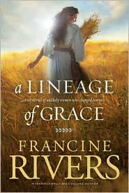 In this compilation of the five books in the best-selling Lineage of Grace series by Francine Rivers, we meet the five women whom God chose—Tamar, Rahab, Ruth, Bathsheba, and Mary. Each was faced with extraordinary—even scandalous—challenges. Each took great personal risk to fulfill her calling. Each was destined to play a key role in the lineage of Jesus Christ, the Savior of the World.