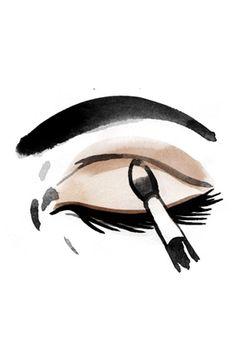 Everyday Eye Makeup in 4 Easy Steps= from Oprah's website