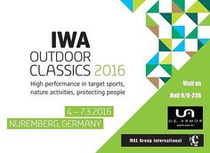 The 2016 #IWAOutdoorClassics in Nuremberg, Germany starts tomorrow! Visit U.S. Armor and more at the MAE Group International booth# 9-236 in the #securityequipment section of Hall 9. #usarmor #bodyarmor #ballsitcvests #lawenforcement #IWA #Nuremberg #Germany #youllwearit