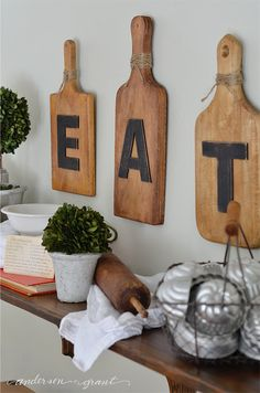 Old kitchen gadgets and cookbooks can serve as great decor to use when styling your home. See and learn how to use rustic, vintage treasures to style open shelving in the kitchen.