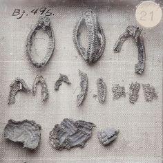 Bj 476 Birka Textile Fragment - wirework.