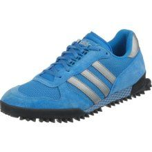info for beafc 0216a adidas Originals Laufschuh, Marathon TR, blau-silberfarben