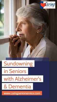Sundowning in Seniors with Alzheimer's & Dementia Dealing With Dementia, Alzheimer's And Dementia, Dementia Care Homes, Dementia Crafts, Signs Of Dementia, Vascular Dementia, Dementia Symptoms, Alzheimer's Symptoms, Health