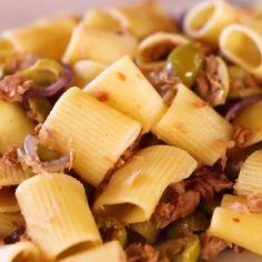 Pasta Recipes, Appetizer Recipes, Salad Recipes, Diet Recipes, Vegetarian Recipes, Greek Recipes, Italian Recipes, Mexican Food Recipes, Rigatoni