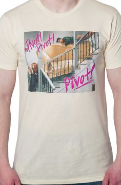 Pivot Pivot Pivot Friends Shirt: Hilarious Ross and Rachel Couch Shirt