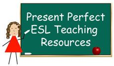 Innovative selection of free ESL EFL teaching activities, lessons and worksheets about the present perfect tense. Try these resources in class today.