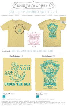 Alpha Delta Pi & Delta Sigma Phi Under the Sea 2014