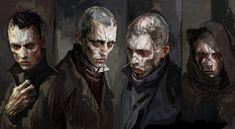 Weepers - Pictures & Characters Art - Dishonored