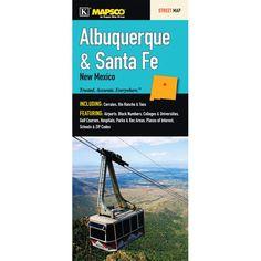 Albuquerque/Santa Fe/Taos Fold Map