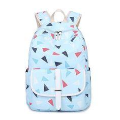 Geometric Softback Backpack 7 Colors