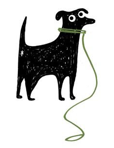 Client: Daisy Category: illustration project: For this category there were several necessary embellishments. So I loose illustrations Art And Illustration, Vector Dog, Young Animal, Dog Walking, Animal Drawings, Dog Drawings, Drawing Sketches, Dog Art, Original Image