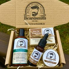 Beardsmith Complete Box – The Biscuit Marketplace Beard Shampoo, Shampoo Bar, Glossier Lip Balm, Alpaca My Bags, Black Pearl Earrings, Jute Tote Bags, Deep Brown, Antique Earrings, Wooden Hearts