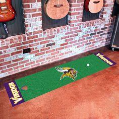 NFL Minnesota Vikings Putting Green Mat