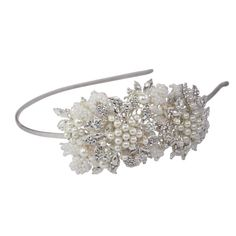 Halo and Co Cleo Bridal Headband - Bridal Jewellery - Crystal Bridal Accessories