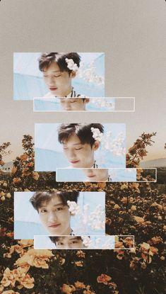 Chanyeol Cute, Park Chanyeol, Baekhyun, Exo Lockscreen, Bts And Exo, Exo Members, Colorful Wallpaper, Kpop Aesthetic, Chanbaek