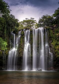 ✯ Mystic Falls - Costa Rica : wonder what this sounds like, heavenly.