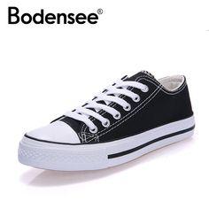 bf687f83 46% СКИДКА|BODENSEE/Женская парусиновая обувь; женские модные летние повседневные  кроссовки; женская обувь; zapa; женская Вулканизированная обувь; ...