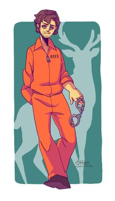 Prison jumpsuit Will by meixx.deviantart.com on @DeviantArt