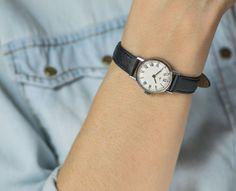 Simple lady's watch roman numerals women's wrist by SovietEra