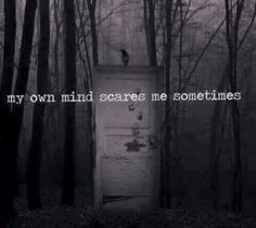 Trendy Quotes Deep Dark Thoughts So True Ideas Creepy Quotes, Depersonalization, Dark Thoughts, Random Thoughts, Mind Thoughts, Overcoming Anxiety, Dark Quotes, Depression Quotes, Depression Kills