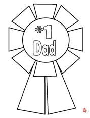 Father's Day Coloring Page from Making Learning Fun