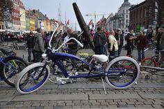 Chopped Bicycle at Copenhagen, Denmark