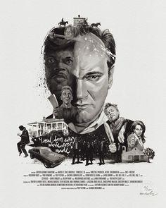 Movie Director Portrait: Quentin Tarantino by Stellavie & Julian Rentzsch