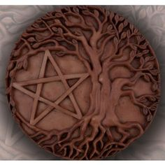 Pentacle Tree Altar & Wall Hanging