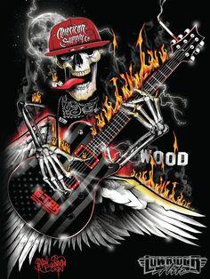 the dead sing Arte Cholo, Skull Rose Tattoos, Image Rock, Rock Band Posters, Heavy Metal Art, Ghost Rider Marvel, Totenkopf Tattoos, Music Drawings, Skull Artwork