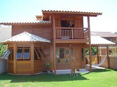 Madestilo Village House Design, Bungalow House Design, House Front Design, Timber House, Wooden House, Home Building Design, Building A House, House Construction Plan, Bamboo House Design