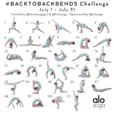 "300 Likes, 38 Comments - Mala Yoga - Brooklyn, NY (@malayoganyc) on Instagram: ""We're excited to jump on board for the #BackToBackbends yoga challenge for the month of July!…"""