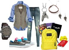 """Back to School"" by sara-ashlyne on Polyvore"