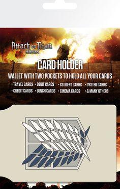 Attacco dei Giganti Porta carte di credito