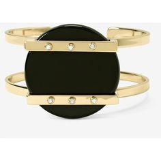 White House Black Market Black Agate Cuff Bracelet (3.225 RUB) ❤ liked on Polyvore featuring jewelry, bracelets, black agate jewelry, white house black market jewelry, handcrafted jewellery, bangle cuff bracelet and hinged cuff bracelet