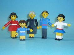 LEGO SET No 200 VINTAGE LEGO FAMILY WITH INSTRUCTIONS | eBay