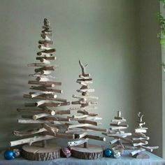 We can't make these driftwood Christmas trees fast enough! www.driftingconcepts.com
