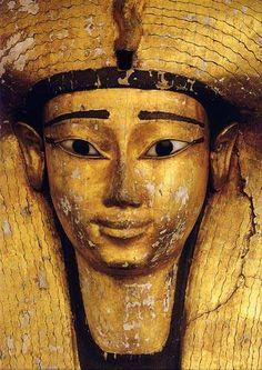 Sarcófado de Ahotep, museo del Cairo