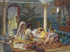 Wealthy People, Algiers by Frederick Arthur Bridgman, 1894
