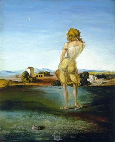 Salvador Dalí - La noia dels rulls (La muchacha de los rizos) 1926