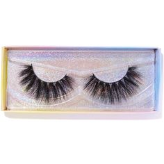Featherella Beauty Dream Boat False Lashes (1.035 RUB) ❤ liked on Polyvore featuring beauty products, makeup, eye makeup and false eyelashes