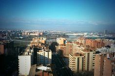 Vistas al Ebro desde el WTCZ #Zaragoza #Aragon