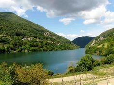 Un paese sommerso nel Lago di Vagli