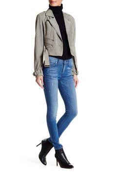 Winter weekend wear!  HUDSON Jeans Nico Midrise Ankle Super Skinny Jean