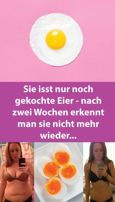 She only eats boiled eggs - after two weeks you can no longer recognize them . - She only eats boiled eggs – after two weeks you can no longer recognize them we - Teen Diet Plan, Ketogenic Diet Starting, Flat Belly Diet, Diet Plans To Lose Weight Fast, Nutrition, Diets For Beginners, Diets For Women, Eat Smart, Boiled Eggs