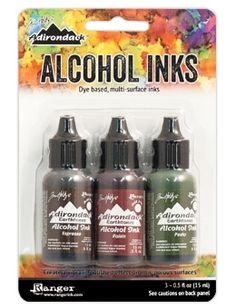 Tim Holtz Alcohol Ink Set MOUNTAIN VINEYARD Adirondack Ranger