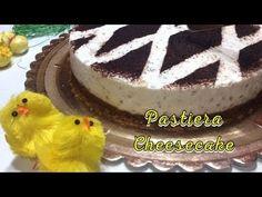 Pastiera Cheesecake, ricetta facile senza cottura e senza uova - Tutti a tavola - YouTube