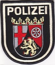 Germany Police Rheinland-Pfalz - spent my last year in Kaiserslautern as a liaison with the autobahn polizei