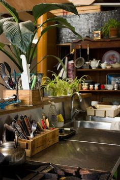 The Home of..... Artist Donjo. I love the cutlery box. Make one maybe?