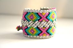 Double Row Friendship Bracelet Amigo SALE by DolorisPetunia